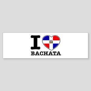 I love Bachata Sticker (Bumper)