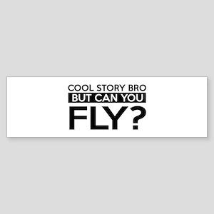 Fly job gifts Sticker (Bumper)