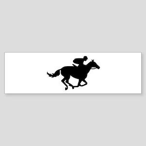 Horse race racing Sticker (Bumper)