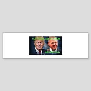Make America Under 18 Again Bumper Sticker