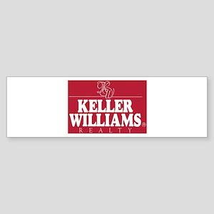 kw_stack_lite_bg red Bumper Sticker