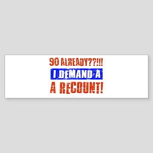 90th birthday design Sticker (Bumper)