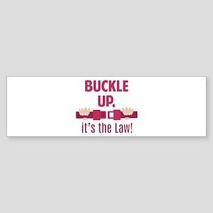 Buckle Up Bumper Sticker