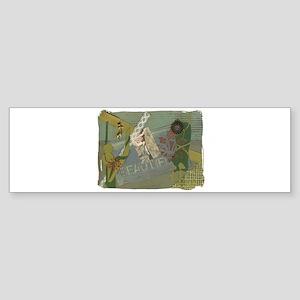 Silks Style Bumper Sticker