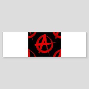 anarchy sign Bumper Sticker