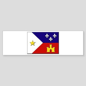 Flag of Acadiana Sticker (Bumper)