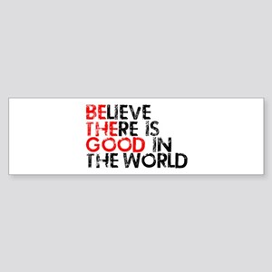 Be The Good In The World Sticker (Bumper)