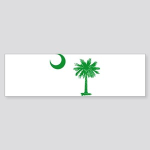 South Carolina Palmetto Flag Sticker (Bumper)