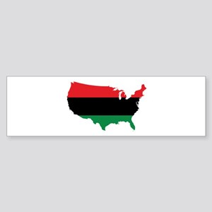 African American _ Red, Black & Green Colors Bumpe