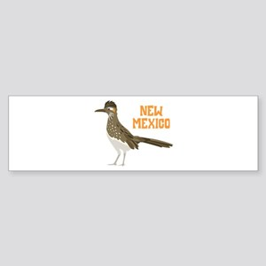 NEW MEXICO Roadrunner Bumper Sticker