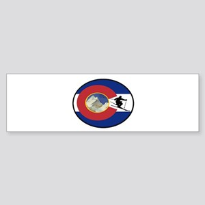 COLORADO SKI TIME Bumper Sticker