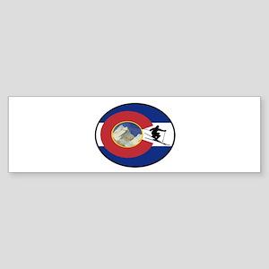 COLORADO SKI TIME Bumper Sticker