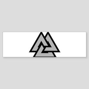 Valknut Bumper Sticker
