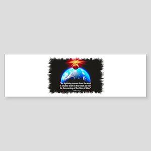 Son of Man Bumper Sticker