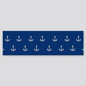 Nautical Elements Bumper Sticker
