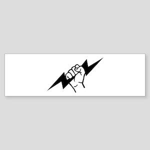 Flash Electrician Sticker (Bumper)