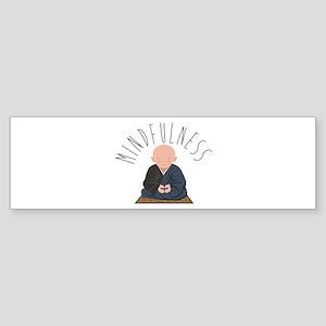 Meditation Mindfulness Bumper Sticker