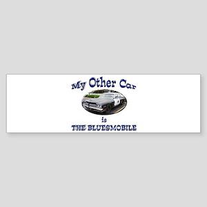 Bluesmobile Sticker (Bumper)
