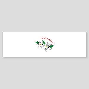 Edelweiss Bumper Sticker