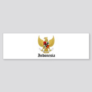 Indonesian Coat of Arms Seal Bumper Sticker