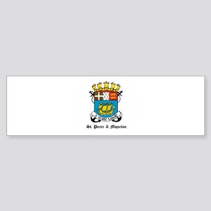 Pierrian Coat of Arms Seal Bumper Sticker