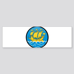 Saint Pierre & Miquelon Bumper Sticker