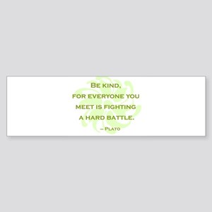 bekind-section Bumper Sticker