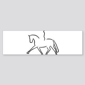 Dressurpferd Bumper Sticker