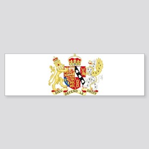 Diana, Princess of Wales Coat of Arms Bumper Stick