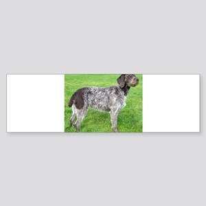 german wirehaired pointer liver full Bumper Sticke