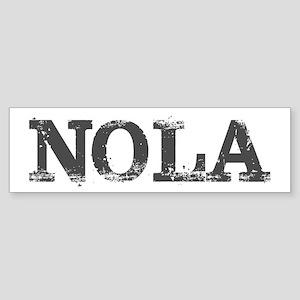 NOLA New Orleans Vintage Bumper Sticker