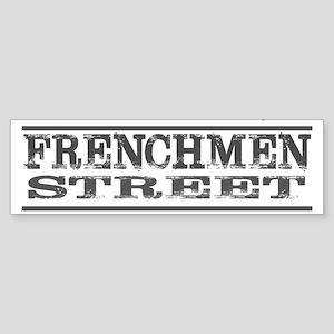 NEW ORLEANS FRENCHMEN STREET Bumper Sticker