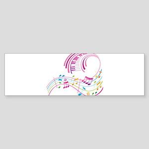 Music Art Sticker (Bumper)