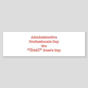 Admin. Professionals Day Bumper Sticker