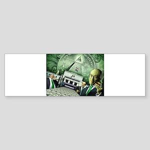 Pyramid Scheme Bumper Sticker