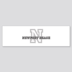 Letter N: Newport Beach Bumper Sticker