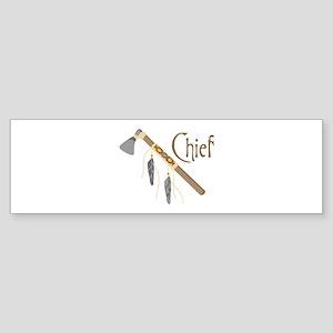 Chief Bumper Sticker