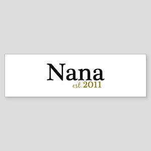 New Nana Est 2011 Sticker (Bumper)