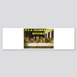 Easter - It's A Celebration B Bumper Sticker