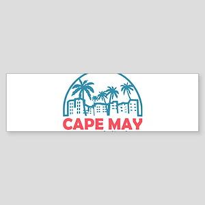 Summer cape may- new jersey Bumper Sticker