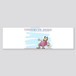 Thumbs up for Brutus Bumper Sticker