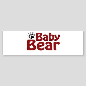 Baby Bear Claw Bumper Sticker