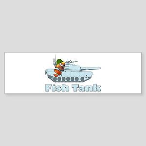 Fish Tank Bumper Sticker