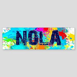Good Vibes NOLA Burst Bumper Sticker