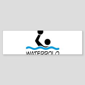 waterpolo Bumper Sticker