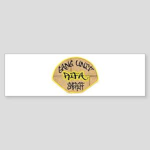 Sheriff Gang Unit Sticker (Bumper)
