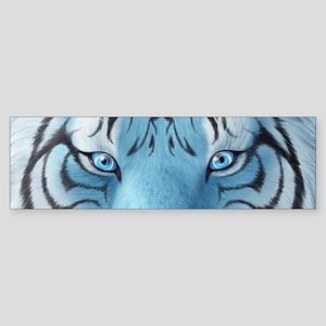 Fantasy White Tiger Bumper Sticker