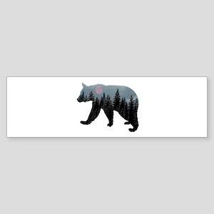 CLOUD BEAR Bumper Sticker