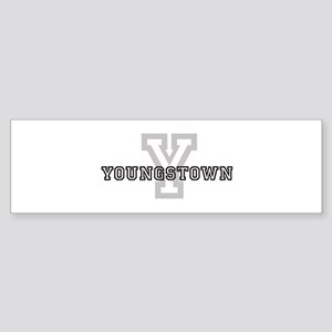 Letter Y: Youngstown Bumper Sticker