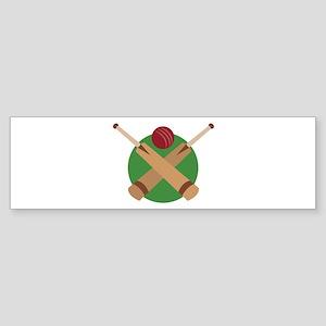 Cricket Bat Bumper Sticker
